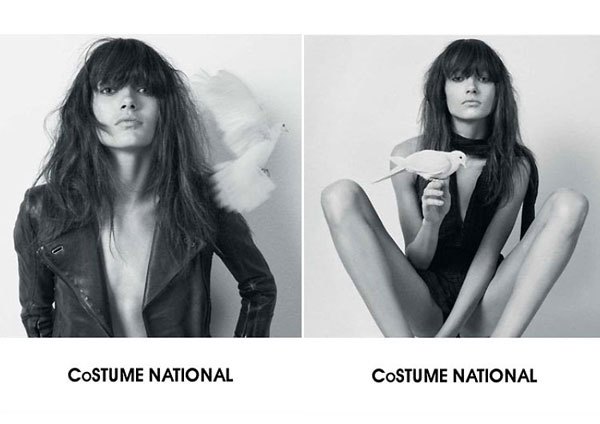 Costume National Spring/Summer 2010 Campaign Preview | Karmen Pedaru by Glen Luchford