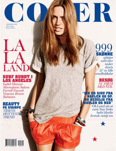 Cover Magazine March 2011 Cover | Maria Gregersen by Rasmus Skousen