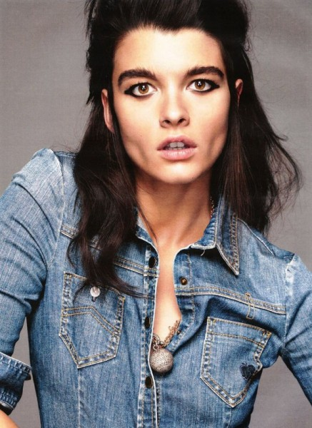 Crystal Renn by Claudia Knoepfel & Stefan Indlekofer for <em>Vogue Germany</em> February 2011