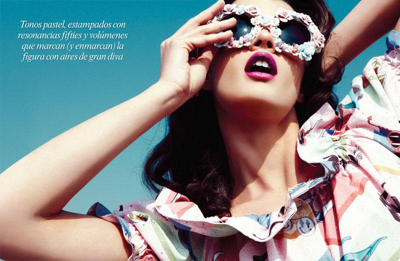 Crystal Renn by Nagi Sakai for Vogue Latin America May 2012