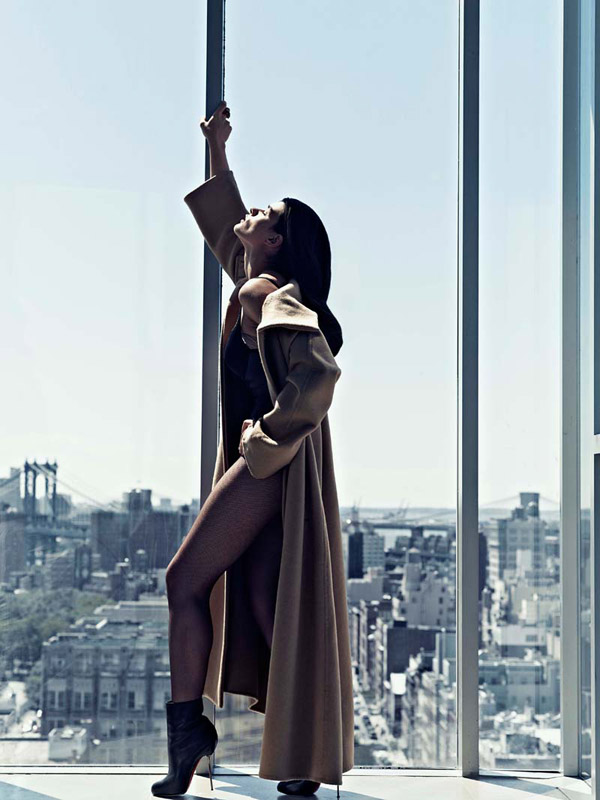 Crystal Renn by Philip Riches for Avant Garde November 2010
