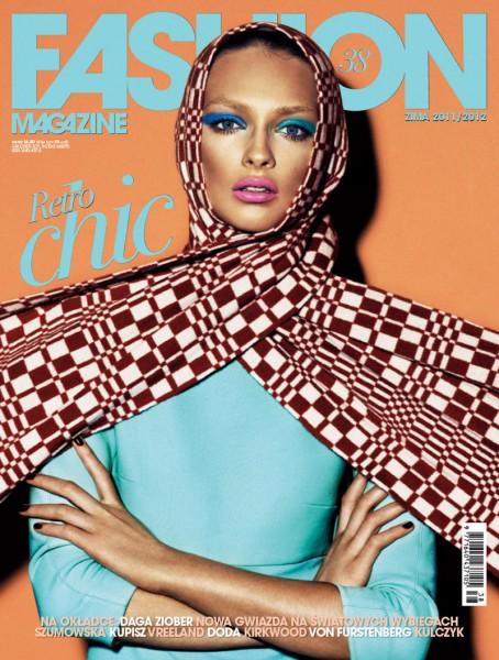 <em>Fashion Poland</em> #38 Winter 2011 Cover | Daga Ziober by Mateusz Stankiewicz