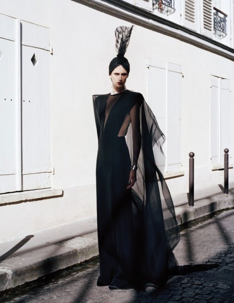 Daiane Conterato for <em>Zoo</em> Fall 2010 by Laetitia Negre