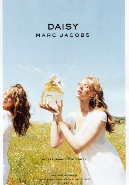 Daisy by Marc Jacobs Campaign | Frida Gustavsson by Juergen Teller