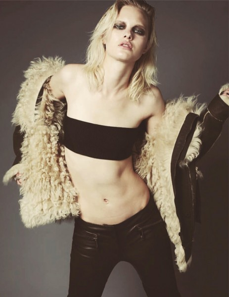 Hannah Holman by Dancian for <em>Zoo</em> Summer 2010