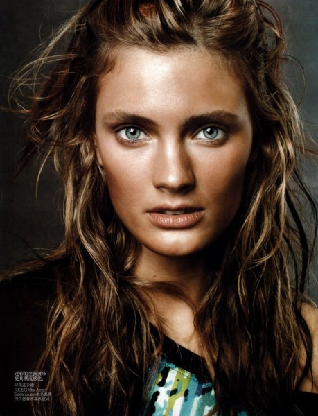 Constance Jablonski by Daniel Jackson in Wild Child | <em>Vogue China</em> June 2010