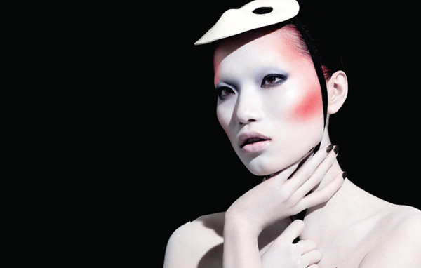 Danni Li for <em>ROUGE Magazine</em> #3 by Henrique Gendre