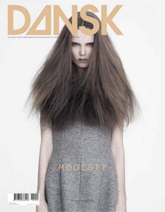 Dansk A/W 2010 Cover | Caroline Brasch Nielsen by Henrik Bülow