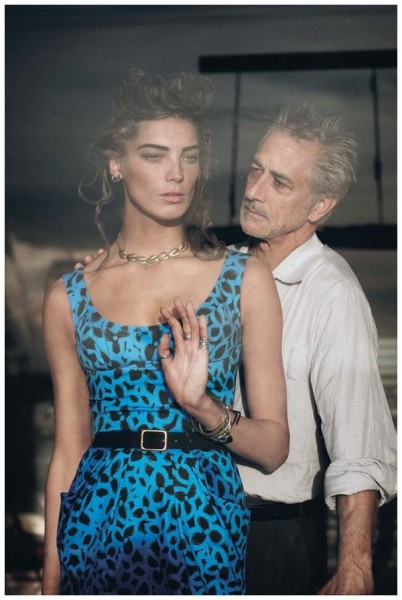Daria Werbowy by Peter Lindbergh for Vogue US January 2011
