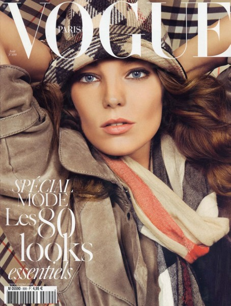 Vogue Paris August 2009 – Daria Werbowy by Inez & Vinoodh