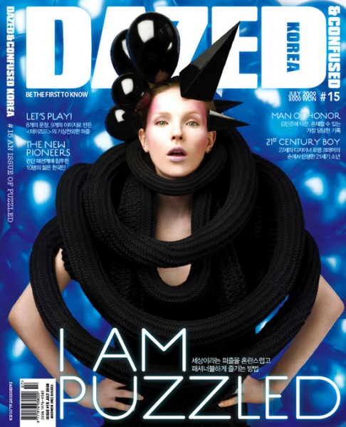 Dazed & Confused Korea July 2009 – Ekaterina Kiseleva by Louis Park