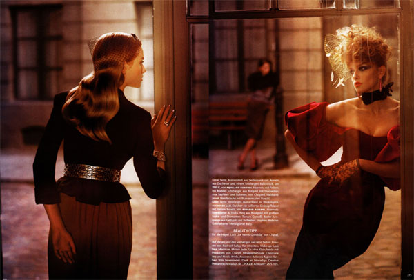 Dolce Diva by Norbert Schoerner for Vogue Germany September