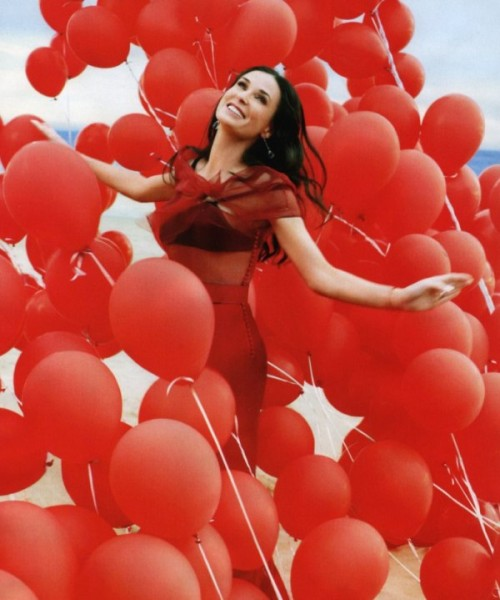 Demi Moore by Mark Seliger | <em>Harper's Bazaar US</em> April 2010