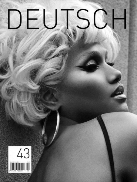 <em>Deutsch</em> Issue #43 Cover | Arlenis Sosa by Tony Kim