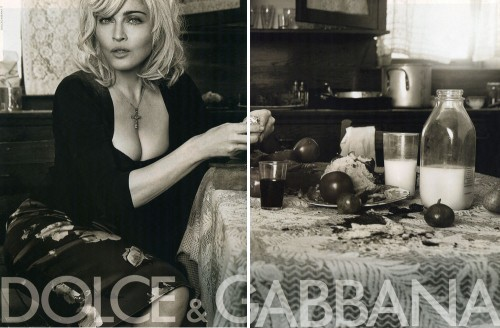 Dolce & Gabbana Spring 2010 Campaign Preview | Madonna by Steven Klein