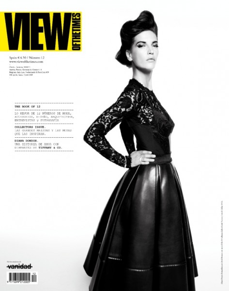 <em>View of the Times</em> F/W 2010 Cover | Diana Dondoe by David Roemer