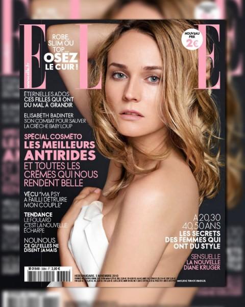 Elle France November 5, 2010 Cover   Diane Kruger