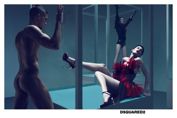 DSquared2 Fall 2010 Campaign Preview | Iris Strubegger & Alla Kostromicheva by Mert & Marcus