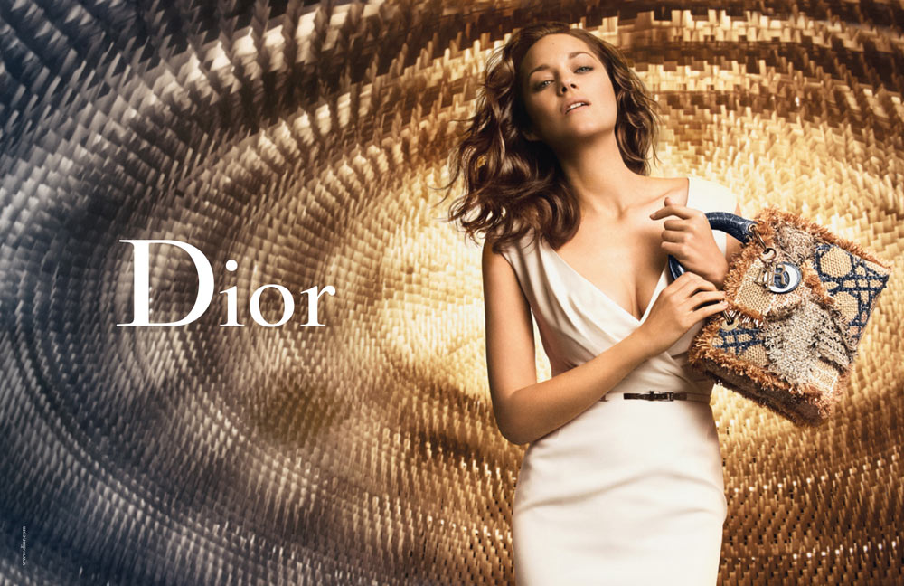 Marion Cotillard for Lady Dior Spring 2012 Campaign by Peter Lindbergh