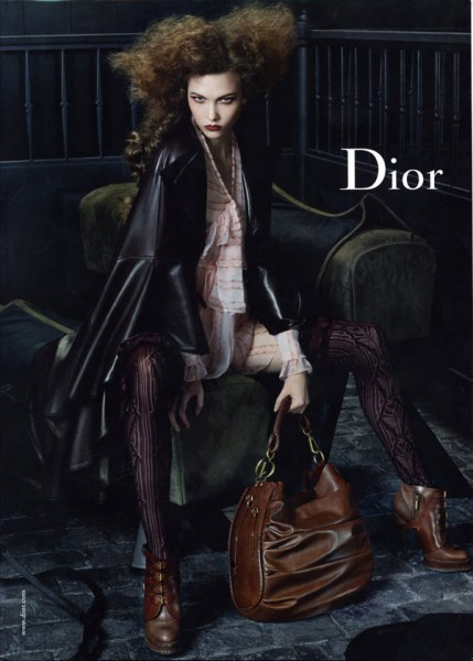 Dior Fall 2010 Campaign Preview | Karlie Kloss by Steven Meisel