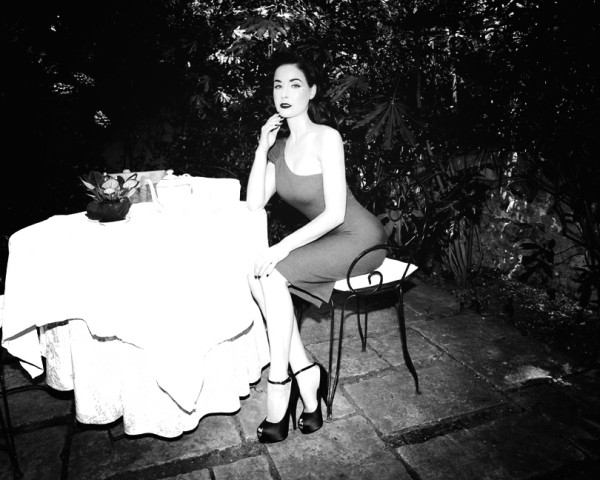 Dita von Teese by Richard Bernardin for <em>Grazia</em>