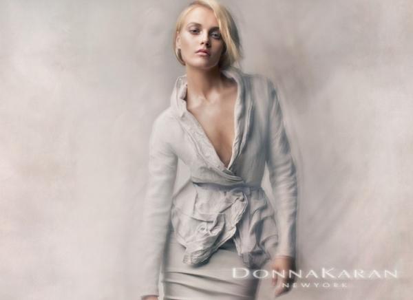 Donna Karan Spring 2010 Campaign Preview | Anna Maria Jagodzinska by Patrick Demarchelier