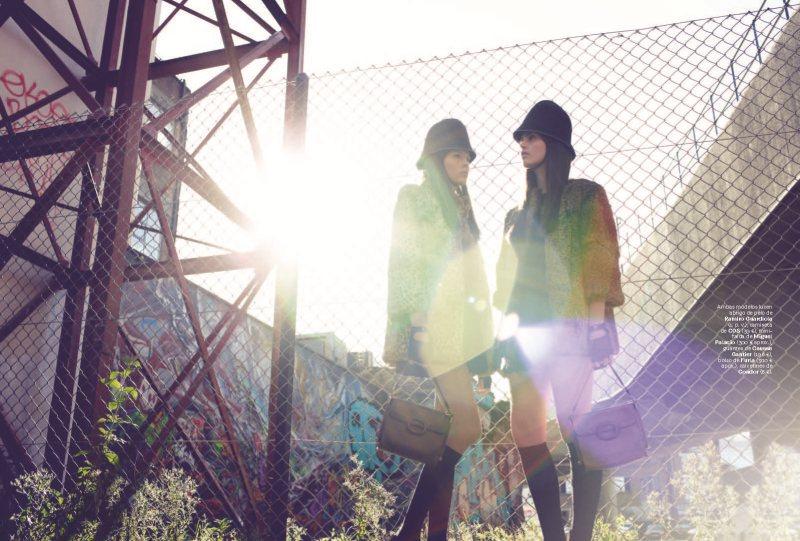 Maria Palm & Adina for S Moda in Doble o Nada