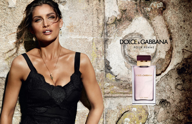 Laetitia Casta Fronts Dolce & Gabbana's 'Pour Femme' Fragrance Campaign by Mario Testino