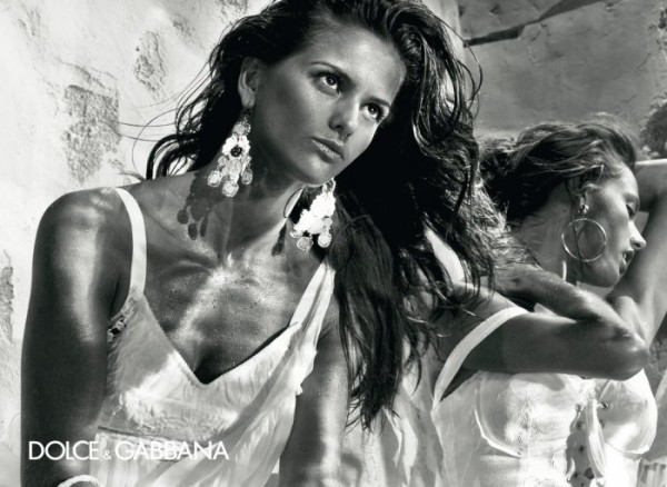 Dolce & Gabbana Spring 2011 Campaign Preview | Alessandra Ambrosio & Izabel Goulart by Steven Klein