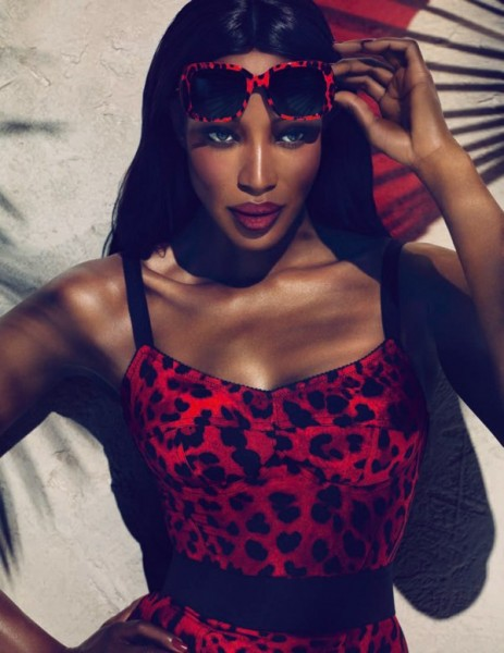 Naomi Campbell for Dolce & Gabbana Animalier 2011 Campaign by Mert & Marcus
