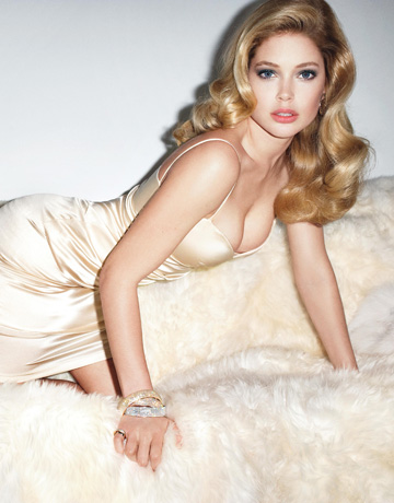 More Doutzen in Harper's Bazaar