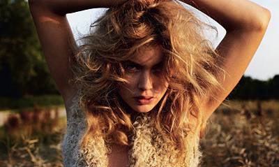 Doutzen in Dutch L'Officiel