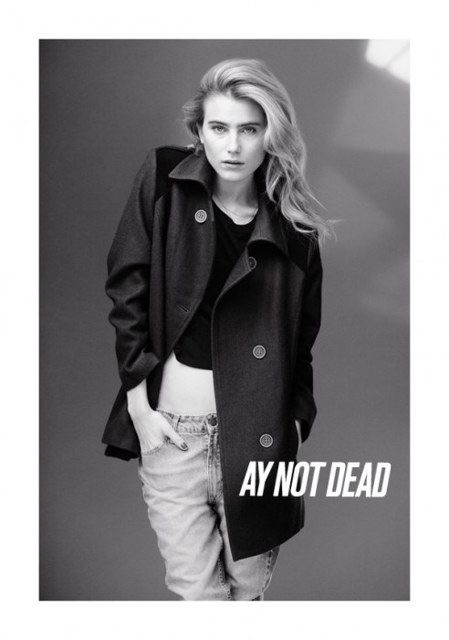 Dree Hemingway for AY Not Dead Fall 2011 Campaign by Sebastian Faena