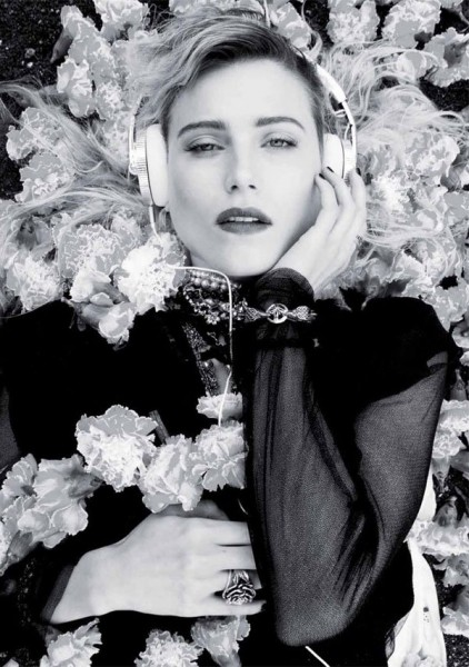 Dree Hemingway by Michael Flores for Twin #3