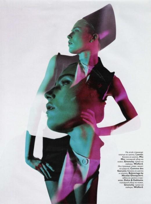 Dree Hemingway by Alasdair McLellan   Vogue Russia