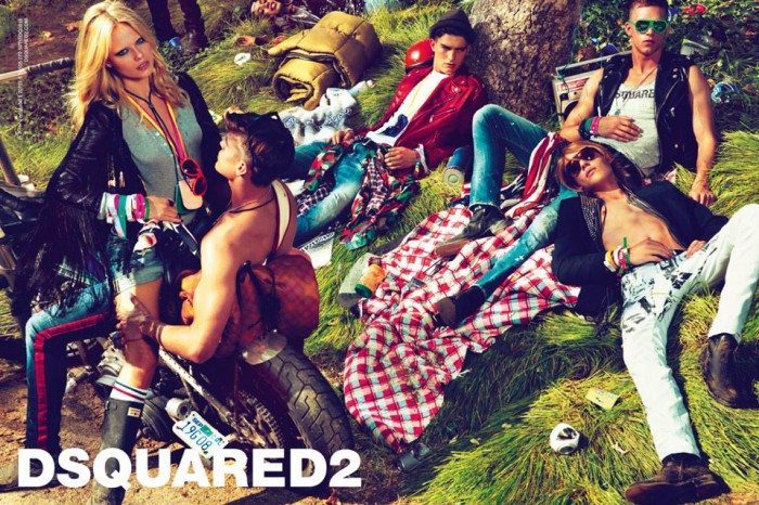 Natasha Poly for DSquared2 Spring 2012 Campaign by Mert & Marcus