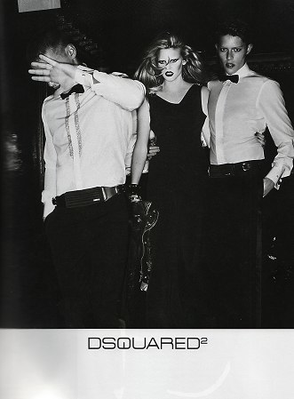 Dsquared² & Iceberg Fall 2009 by Mert & Marcus