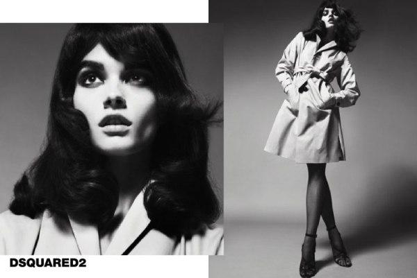 DSquared2 Spring 2011 Campaign | Crystal Renn, Fei Fei Sun & Anna Jagodzinska by Mert & Marcus