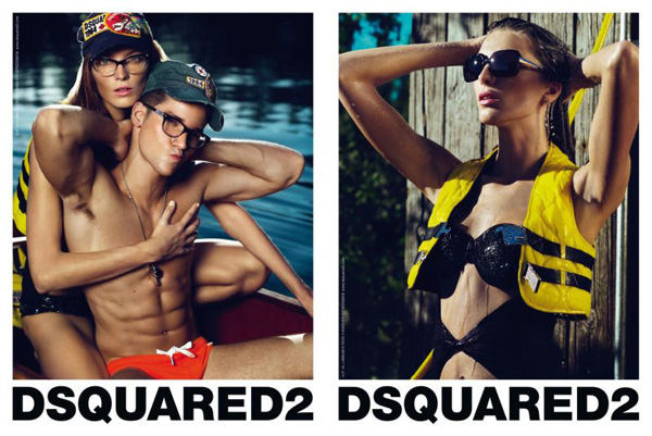Dsquared² Spring 2010 Campaign | Daria Werbowy by Mert Alas & Marcus Piggott