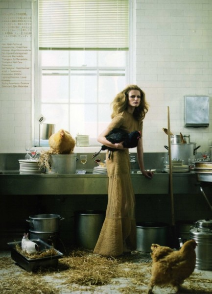 Edita Vilkeviciute by Nathaniel Goldberg for <em>Vogue Nippon</em> June 2010