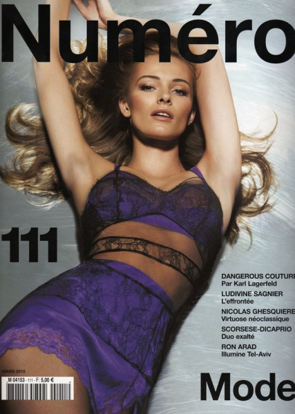 Numéro #111 March 2010 Cover | Edita Vilkeviciute by Sølve Sundsbø