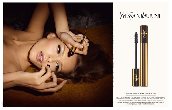 Beauty Campaign | Edita Vilkeviciute for YSL Mascara Fall 2009