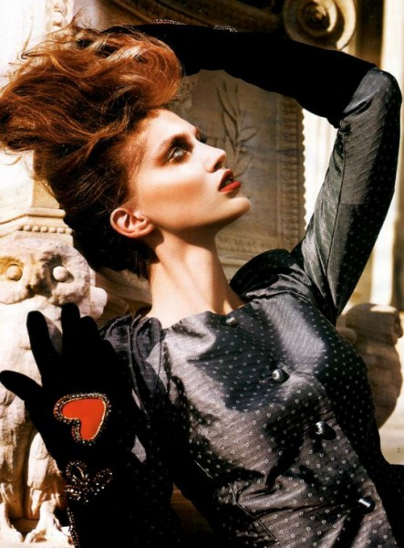 Vogue Hellas | Ekaterina Smarhun by Costas Avgolis