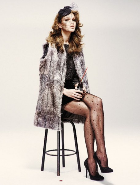 Lena Lomkova by Emre Dogru for <em>Vogue Turkey</em> December 2010