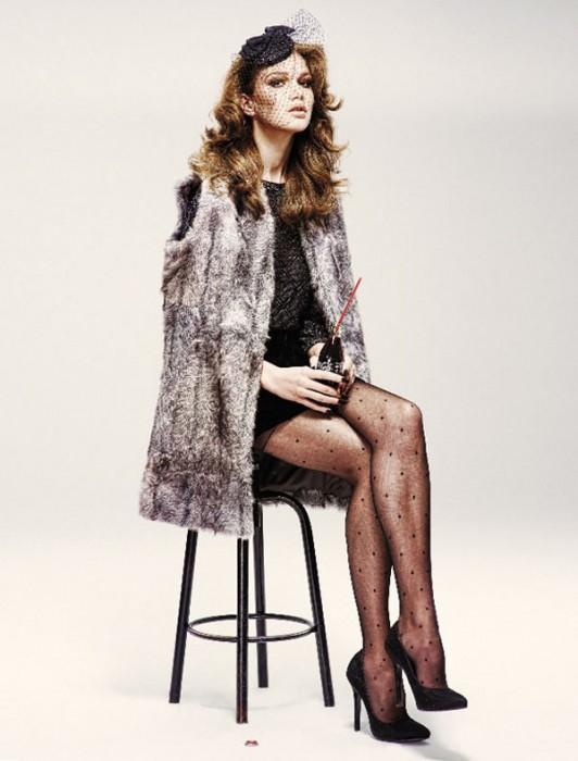 Lena Lomkova by Emre Dogru for Vogue Turkey December 2010