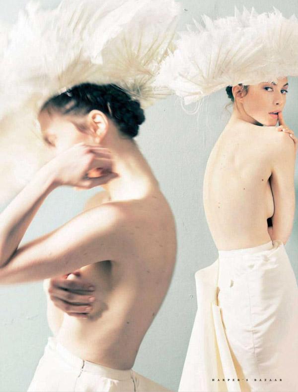 Elettra Wiedemann by Astrid Munoz for Harper's Bazaar Russia