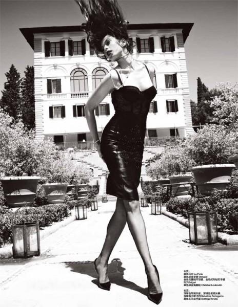 Elettra Wiedmann Plays Up Feminine & Masculine Style for Femina China
