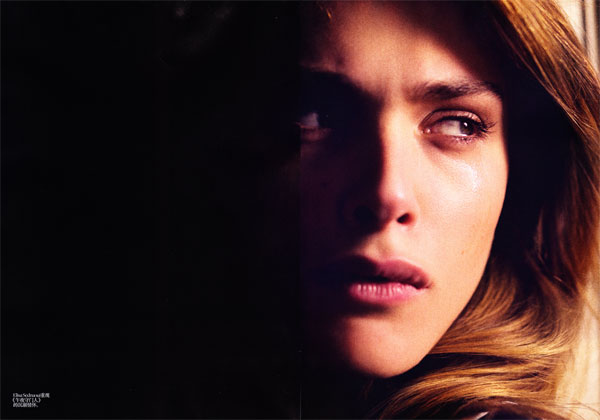 Elisa Sednaoui for Vogue China January 2011 by Stephane Sednaoui
