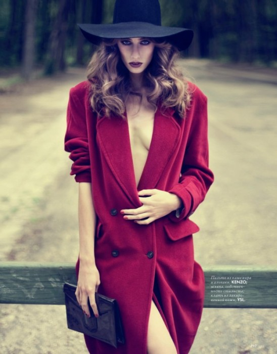 Eliza Sys by Nikolay Biryukov for Elle Ukraine October 2010