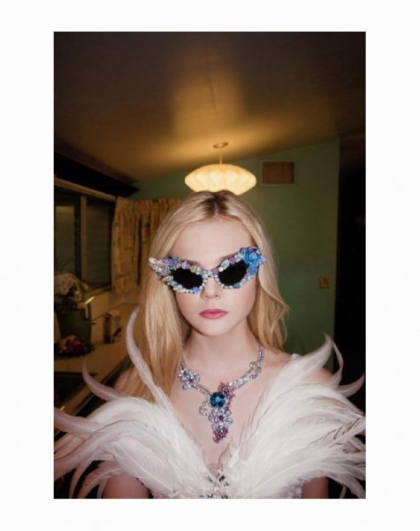 Elle Fanning in Rodarte by Bill Owens for <em>A Magazine</em>